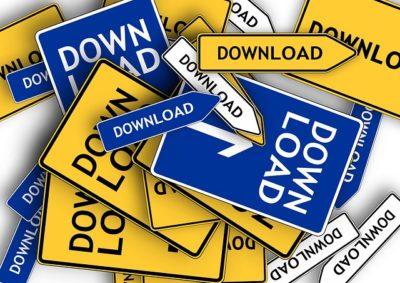 Downloads Unterlagen Hilfen DSGVO