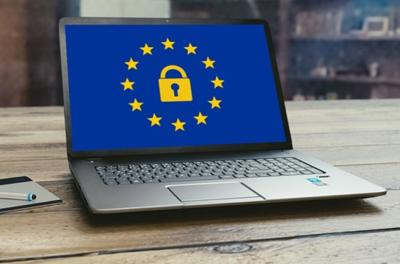 Computer EU Laptop DSGVO