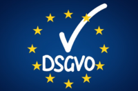 EU Flagge DSGVO Haken